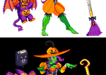 ''Pumpkin Witch'' Varoona by TheSixthSaint