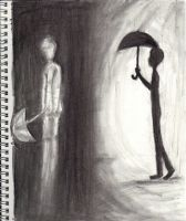 """""""Walking into the Darkness"""" by NecromancyPrince"""