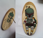 Boba Fett Key-chain by DecorumDreams