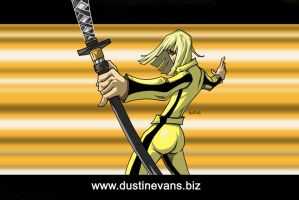 Kill Bill Fanart by DustinEvans