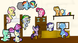 Paper Pony's Invading 1: Paper Mario's House by IDSmehlite