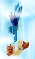 Frost and Zoe. by MissPolycysticOvary
