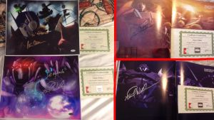 Autographs from Peter Cullen and Frank Welker by MNS-Prime-21