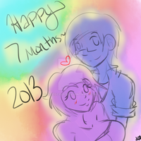 .::Happy Seven-Month Anniversary::. by Scoric