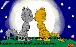 Cinderheart and Lionblaze by Dawnfire2025