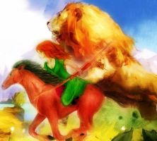 For Narnia, and for Aslan! by AlisonStarling