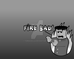 Franky Hates Fire by turnasella