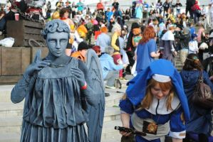 Beware weeping angel at Expo by Cazza2010