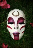 Painted Lady Mask by MonicaMcClain