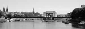 Bremen Weser Panorama by Vargson