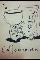Coffee mate doodle by CNsArto