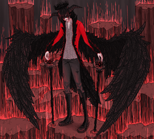 the demon king by psychiartistic