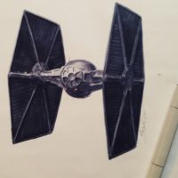 TIE Fighter by dieselart