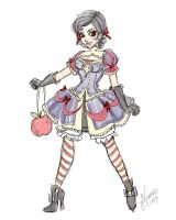 Lolita Snow White Sketch by NoFlutter
