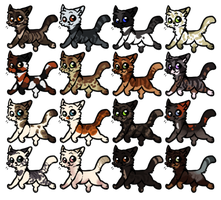 Adoptables Batch 27 by Panderoo