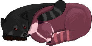 Red Panduurrs by annavalar