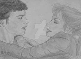 Smallville: Clark and Lois by xBarnowlx