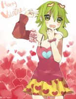 Gumi Valentines day! by hyomoww