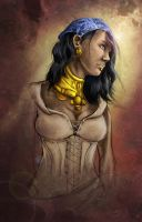 Dragon age 2 - Isabela by Jaybirdy