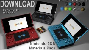 Nintendo 3DS Material Pack by 100SeedlessPenguins