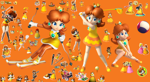 Happy 25 birthday daisy in nintendo by earthbouds