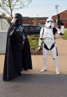 Stoke-Con-Trent 2014 (16) Vader and Stormtrooper by masimage