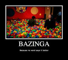 Bazinga by calceil