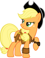Crocodile Applejack by dlazerous