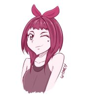 Pink Girl by whymeiy