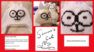 Simon's Cat's Hat by Stitch-Happy