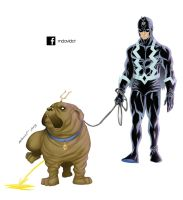 Blackbolt and lockjaw by mdavidct