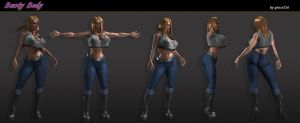 Busty Body Character Sheet 2013 by grico316