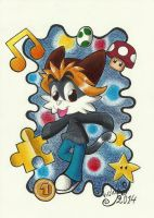 G- That Game-geeky Cat! by MG-Koruption17