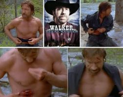 Chuck Norris Prosthetics by TimBakerFX