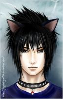 Neko Sasuke by Puppet-Girl86