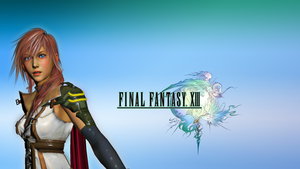Final Fantasy Lightning Wallpaper by SilverMoonCrystal