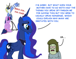 Luna is 'My Mom' Resistant by Cartuneslover16