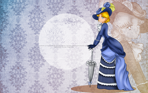 Vintage Lady Serenity - Wallpaper by selinmarsou