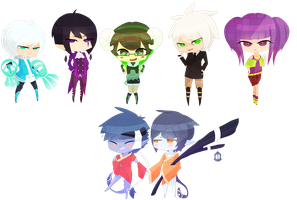 Chibi Commissions :: Batch 1 by JuicyWuicy