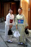 Japanese girls 2 by AutourDuMonde