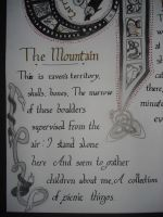 Calligraphy - Carrigskeewaun2 by Diamonds-Hearts