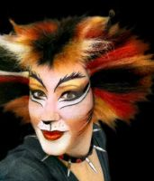 CATS Demeter Makeup by BWCat