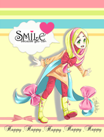 Smile Because u Can by BloomingShosho-chan