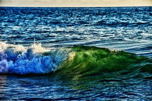 Early Morning Surf. by JSF1