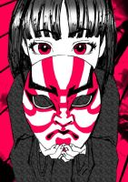 Hold my Kabuki Mask by rbl3d