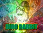 Yu-Gi-Oh - Dino Rabbit Background by lordscalgon