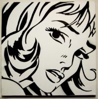 Roy Lichtenstein tribute by guerrilla-tactics