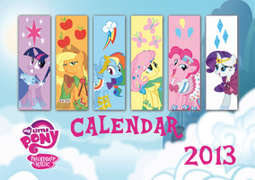 MLP Calendar for 2013 by Candy-Muffin