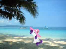 Rarity In A Beautiful Beach by RavenVillanuevaT2P