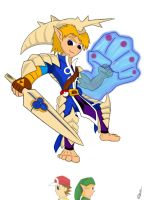 Link Water Forme by OmniGemerl